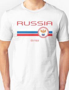 Euro 2016 Football - Russia (Away White) Unisex T-Shirt