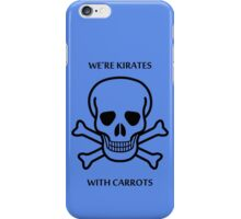 Kirates with Karrots iPhone Case/Skin