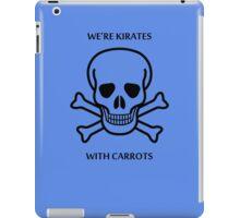 Kirates with Karrots iPad Case/Skin