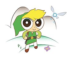 Powerpuff Link Photographic Print