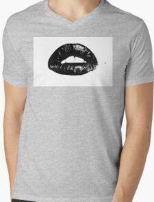 mouth Mens V-Neck T-Shirt