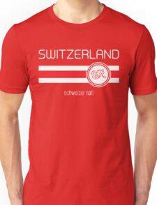 Euro 2016 Football - Switzerland (Home Red) Unisex T-Shirt
