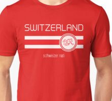Euro 2016 Football - Switzerland (Home Red) Unisex T-Shirt
