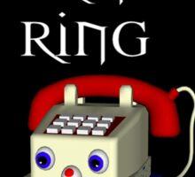 Ring Ring  Sticker
