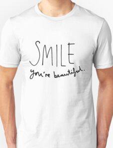 Smile, You're Beautiful Unisex T-Shirt