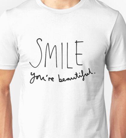 Smile, You're Beautiful Unisex T-Shirt