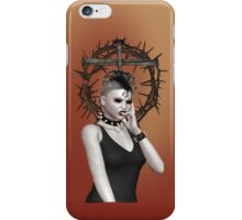 Gothic Vampire  iPhone Case/Skin