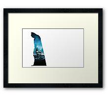 City man  Framed Print