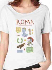 Roma Women's Relaxed Fit T-Shirt