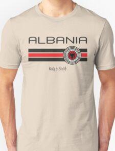 Euro 2016 Football - Albania (Home Red) Unisex T-Shirt