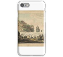 British School 18th century  Title Giants' Causeway No. 2, iPhone Case/Skin