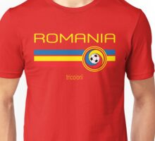 Euro 2016 Football - Romania (Away Red) Unisex T-Shirt