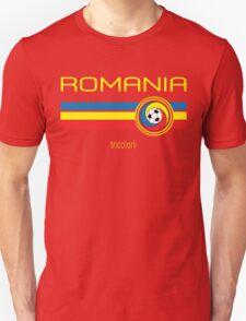 Euro 2016 Football - Romania (Away Red) T-Shirt