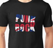 British Punk Rock Union Jack Style Unisex T-Shirt