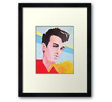 Steven Patrick Morrissey - The Smiths - Original Painting Framed Print