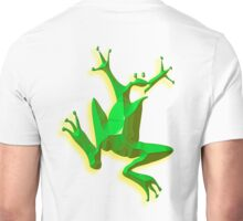 FROG, GREEN FROG, Cartoon, Jumping Jehoshaphat! Help! its the Green frog! Pond life Unisex T-Shirt