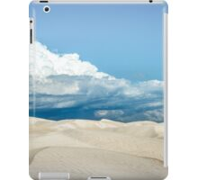 Sand Dune Under a Cloudy Sky iPad Case/Skin