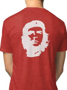 Che, Guevara, Rebel, Cuba, Peoples Revolution, Freedom, in white Tri-blend T-Shirt