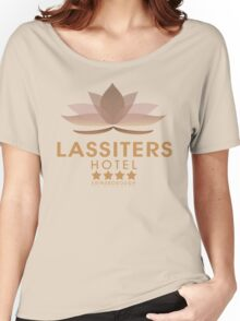 Lassiters Hotel 2015 re-brand Women's Relaxed Fit T-Shirt