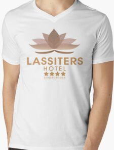 Lassiters Hotel 2015 re-brand Mens V-Neck T-Shirt