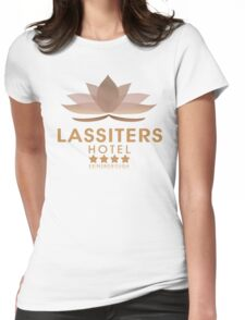 Lassiters Hotel 2015 re-brand Womens Fitted T-Shirt