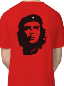 Che, Guevara, Rebel, Revolution, Marxist, Revolutionary, Cuba, Power to the people! Black on Red Classic T-Shirt