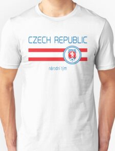 Euro 2016 Football - Czech Republic (Away White) T-Shirt