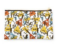 Bill Cipher pattern - colours Studio Pouch