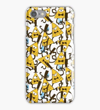 Bill Cipher pattern - plain iPhone Case/Skin