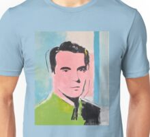 David Byrne Pop Art Painting- by William Wright - Talking Heads Unisex T-Shirt