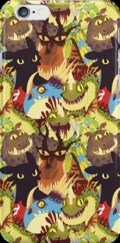 Dragons! by noxira