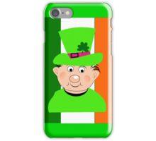 Paddy The Funny Irish Leprechaun iPhone Case/Skin