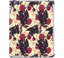 Floral Toothless iPad Case/Skin