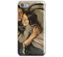 BRODSKY, ISAAK   Portrait of the Artist's Mother and Sister iPhone Case/Skin
