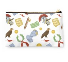 Ancient Rome Pattern Studio Pouch
