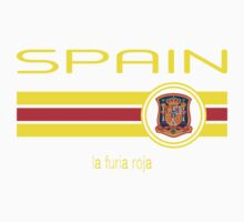 Euro 2016 Football - Spain (Home Red) One Piece - Long Sleeve