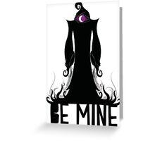 Hooded Figure Valentine Greeting Card