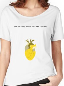 She Had Long Since Lost Her Courage Women's Relaxed Fit T-Shirt
