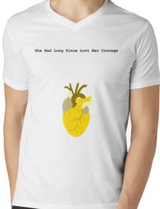 She Had Long Since Lost Her Courage Mens V-Neck T-Shirt
