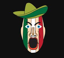 Angry Mexican face Zipped Hoodie
