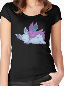 Nidoran Cuddles Women's Fitted Scoop T-Shirt