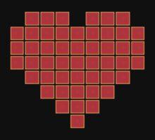Pixel Heart 8-Bit by GrizzlyGaz
