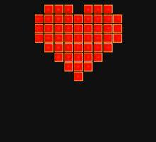 Pixel Heart 8-Bit Unisex T-Shirt