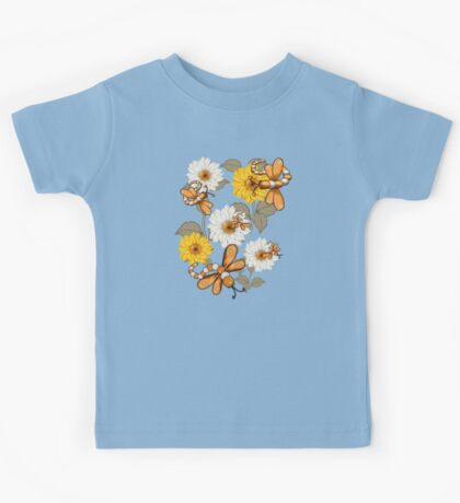 Summer Dragonflies Kids Tee