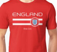 Euro 2016 Football - England (Away Red) Unisex T-Shirt