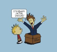 Calvin meets Dr. WHO by duduvero