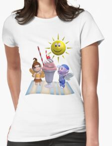Summer Surprise Womens Fitted T-Shirt