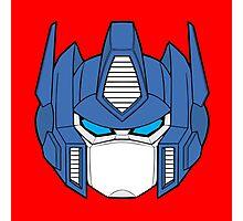 Transformer Optimus Prime Decepticon Photographic Print