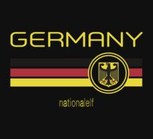Euro 2016 Football - Germany (Away Black) by madeofthoughts