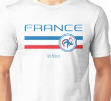 Euro 2016 Football - France (Away White) Unisex T-Shirt